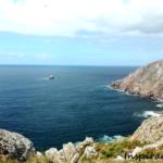 Pradawny kraniec lądów - przylądek Finisterre w Galicji, w północno-zachodniej Hiszpanii.